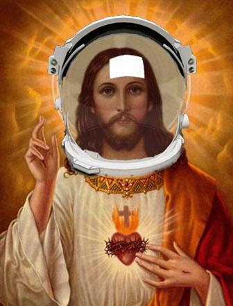 jesus is an astronaut